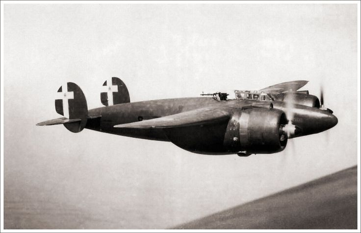 The Breda Ba.88 Lince (Italian: Lynx) was a ground-attack aircraft used by the Italian Regia Aeronautica during World War II. Its streamlined design and retractable undercarriage were advanced for the time, and after its debut in 1937 the aircraft established several world speed records.