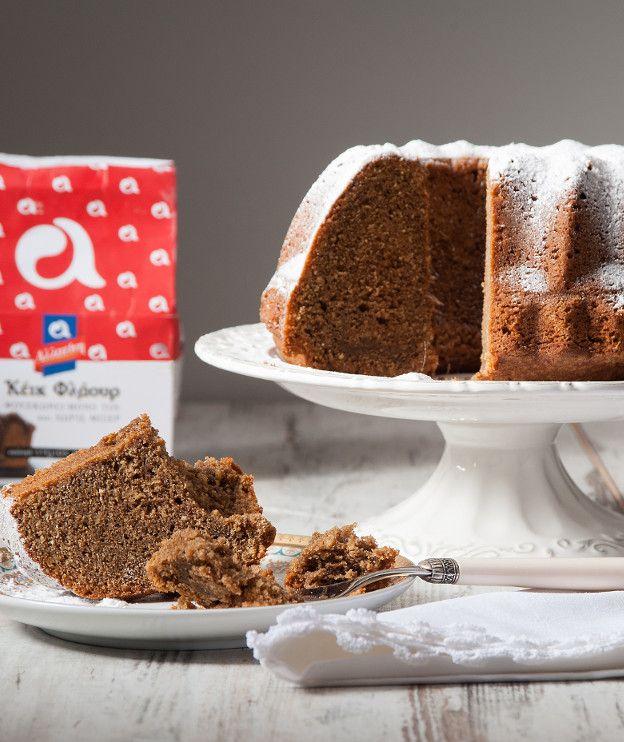 Ένα κέικ για τους λάτρεις του καφέ με πολύ αφράτη υφή χάρη στο νέο αλεύρι «Κέικ Φλάουρ» της ΑΛΛΑΤΙΝΗ.