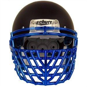 CRHOME Big GRILL! Schutt Chrome Big Grill 2.0 Super Pro Football Facemask