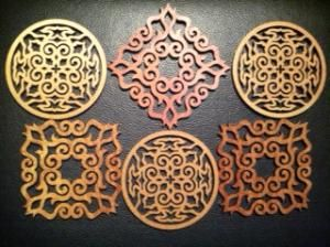アイヌ文様 Pattern of AINU #Ainu #Hokkaido #Japan, unusual for Ainu.