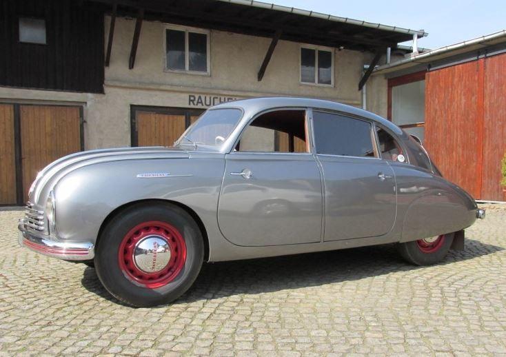 1950 Tatra T600 Front