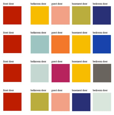61 Best Images About Diy Curb Appeal Using Bold Colors On Pinterest Exterior Colors High