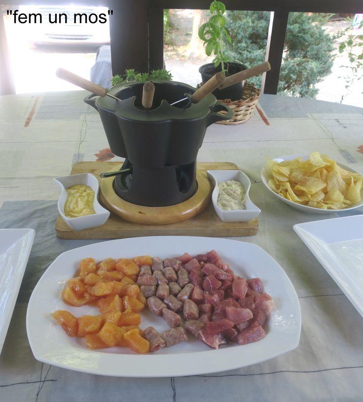Fondue de carn