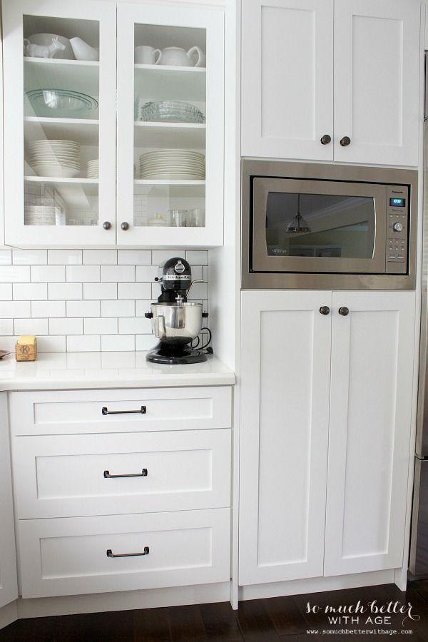 Best 20 Microwave Shelf Ideas On Pinterest Open