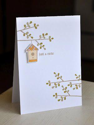 lovely homemade cards