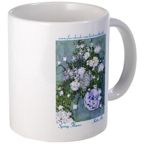 Spring Flowers Mug > Spring Flowers > KatieArt - Batiks