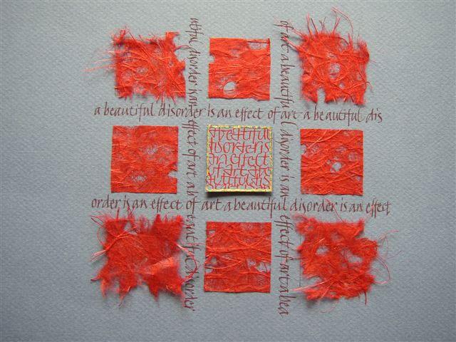 Annege Gesink  www.kalligrafie.com