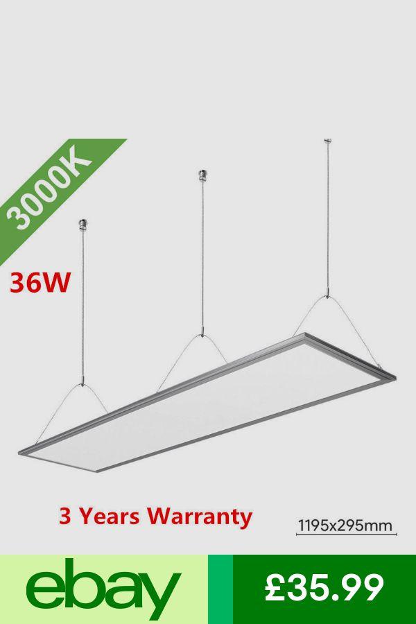 Ceiling Lights Chandeliers Home Furniture Diy Ebay Led Panel Light Recessed Ceiling Led Panel