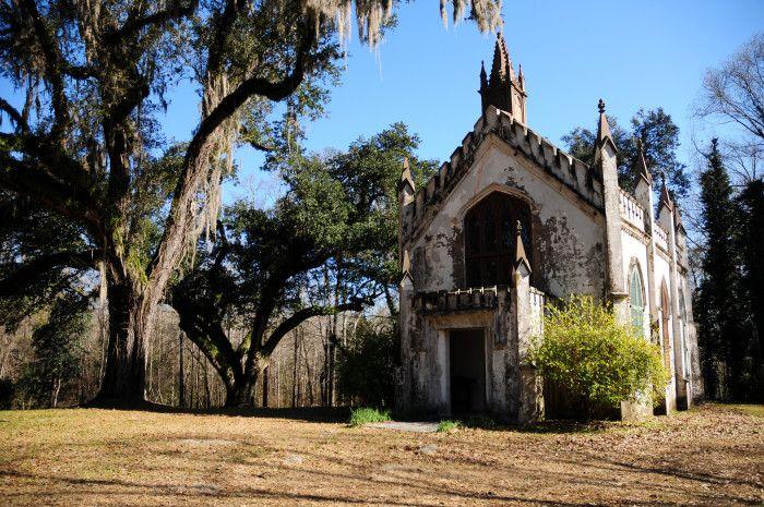 14. Private Episcopalian Chapel, Natchez