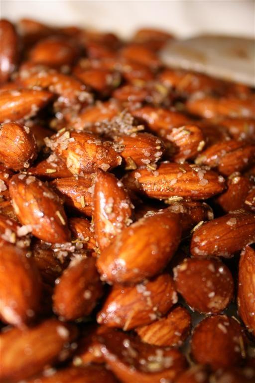 Rosemary Garlic Salted Almonds