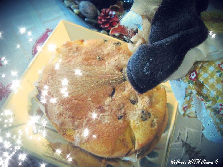 """La Befana qui è arrivata in anticipo, portandomi la """"pinza"""" dolce tipico veneto a base di farina di mais gialla e frutta secca!"""