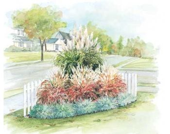 17 best images about free garden plans on pinterest for Perennial garden design zone 6