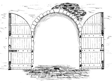 Drawings Of Fantasy Doors Google Search Through Open
