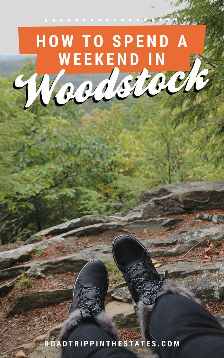 How to spend a weekend in Woodstock NY / Click through for our guide at Road Trippin' The States
