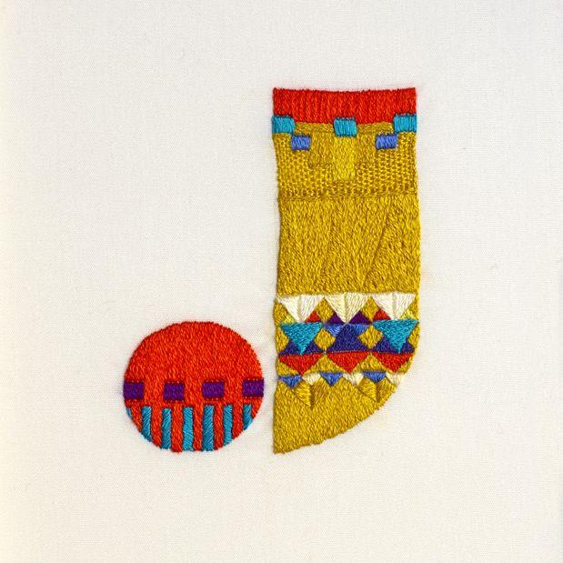 Sweater Letter J, 2010