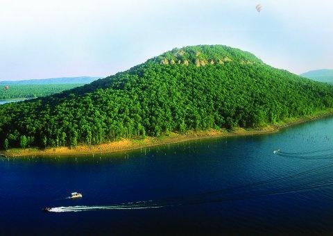 Sugar Loaf Mountain - Greers Ferry Lake, Arkansas