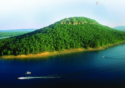 Sugar Loaf Mountain - Greers Ferry Lake, Arkansas-----Love love love this place