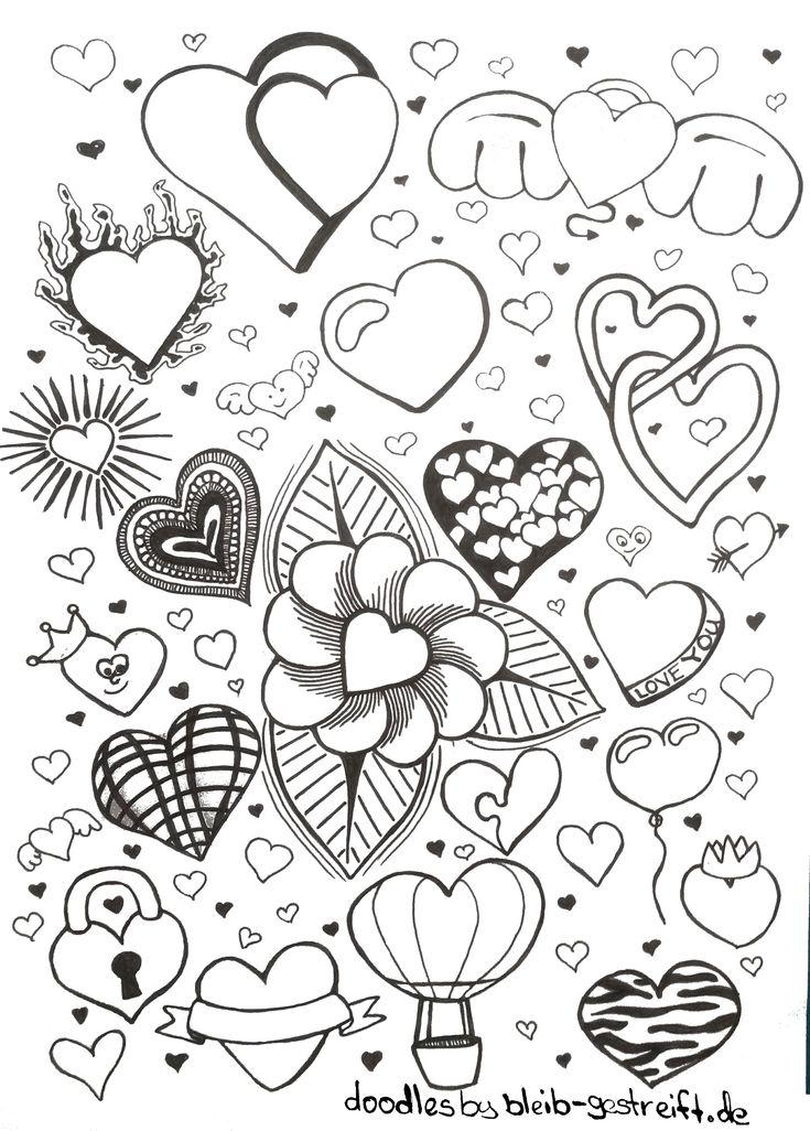 Doodles zeichnen – Viele Vorlagen für deine Inspiration und Kreativität