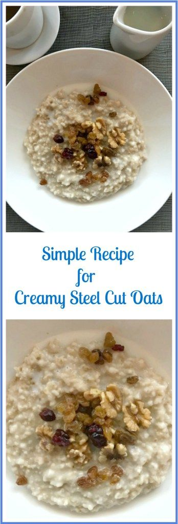 Hearty Simple Recipe for Steel Cut Oats – Skinny Sweets Daily