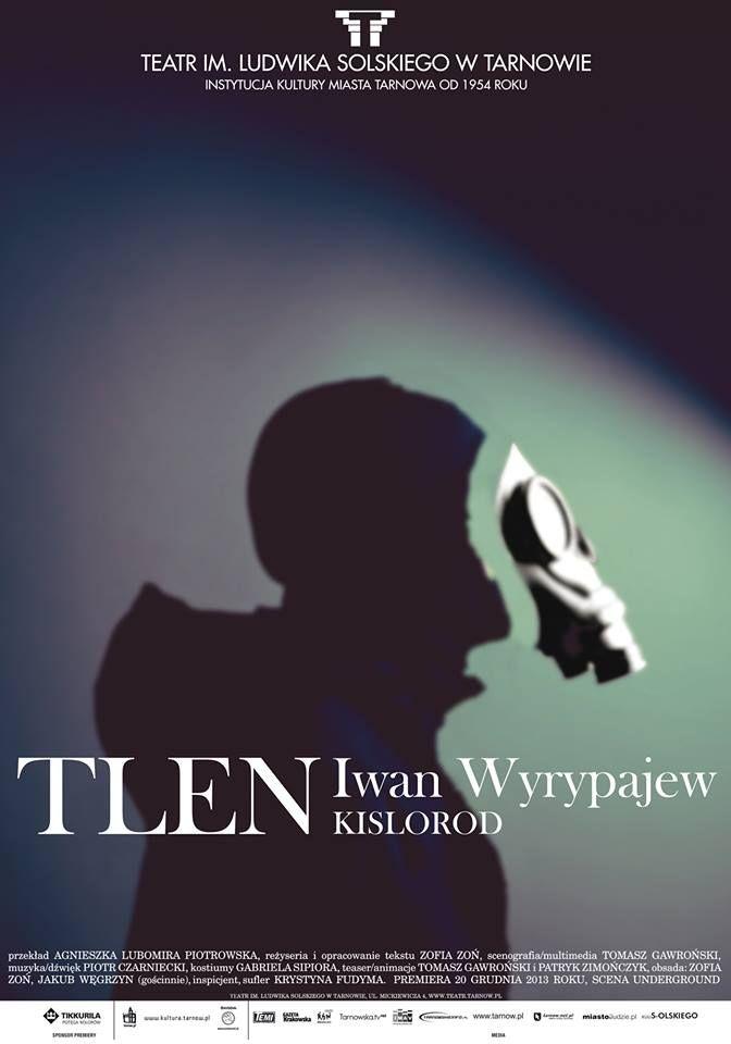 """Iwan Wyrypajew """"Tlen"""" Rezyseria: Zofia Zoń Scenografia / Multimedia: Tomasz Gawroński Muzyka / Dźwięk: Piotr Czarniecki Obsada: Sasza-Zofia Zoń,Saniek-Jakub Węgrzyn  Ivan Vyrypayev """"Oxygen"""" Direction: Zofia Zon Stage Design / Multimedia: Tomasz Gawronski Music / Sound Design: Piotr Czarniecki Cast: Sasha-Zofia Zon, Saniek-Jakub Wegrzyn"""