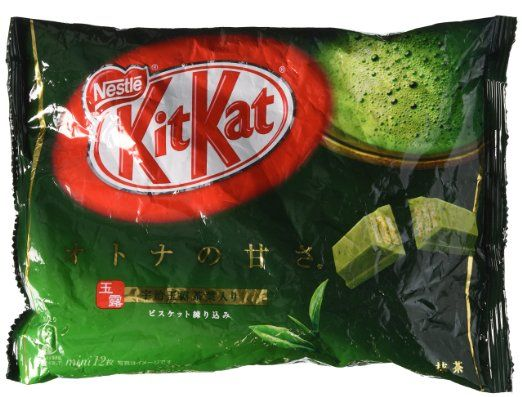 Kit Kat - Maccha Green Tea- I've tried these a few different times and each time, they grow on me!