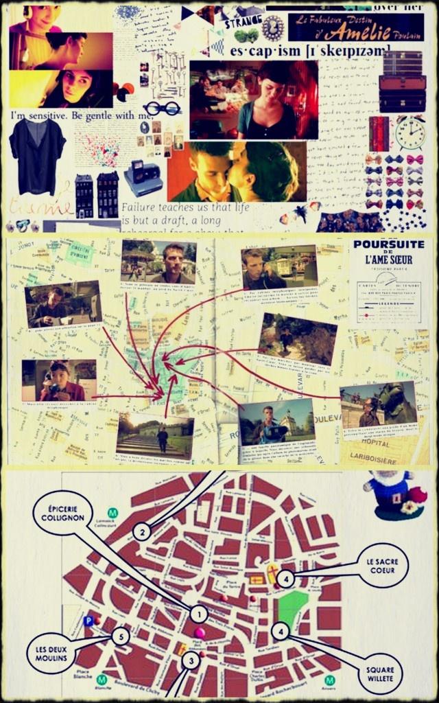 El tour parisino de Amélie Poulain