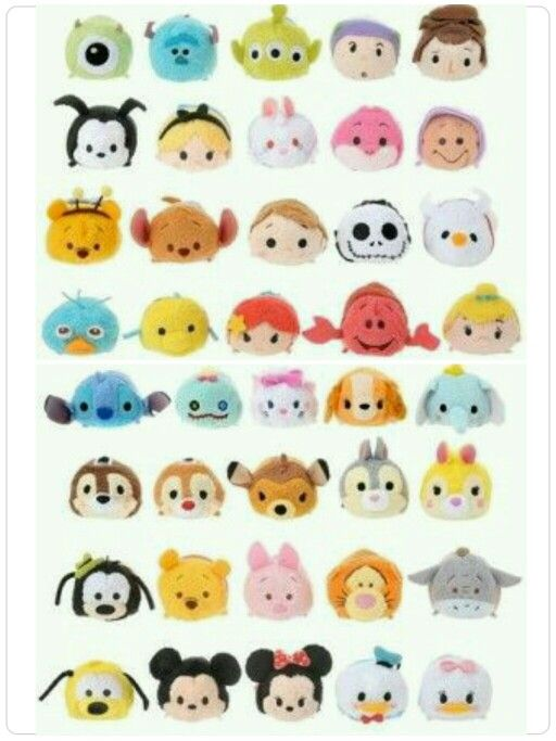 50 best Tsum Tsum images on Pinterest