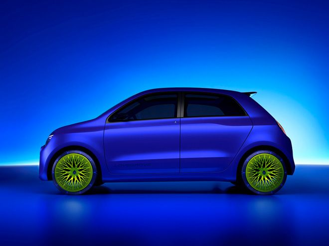 Renault and Ross Lovegrove unveil the TWIN'Z Concept Car