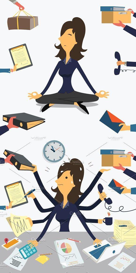 Very Busy Businesswoman Con Imagenes Emprendimiento