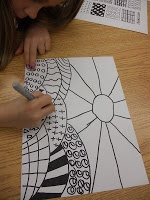 Panther's Palette: 1st Grade: Patterned Landscapes