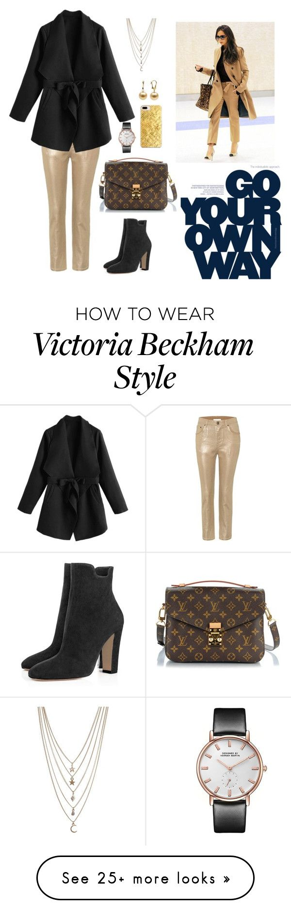 """""""Go your own way!"""" by erlitapd on Polyvore featuring Chloé, Louis Vuitton, Victoria Beckham, Casetify and Ettika"""