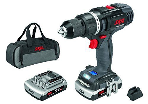 Skil Masters 2899MD Perceuse Visseuse sans fil 18V à 2 Vitesses (2 Batteries Li-ion 2,0Ah, 65 Nm, LED Lampe, Sac de Transport): Cet article…