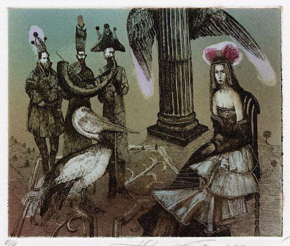 イメージ7 - Katarina Vavrova (7)の画像 - 蔵書票の世界 - Yahoo!ブログ