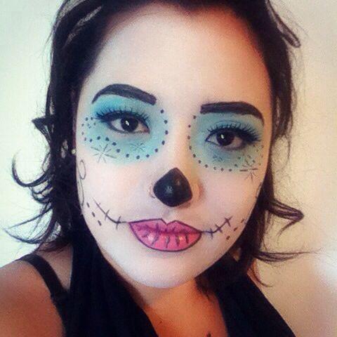 Makeup - Monster High Skelita