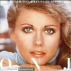 Olivia Newton-John Greatest Hits cover