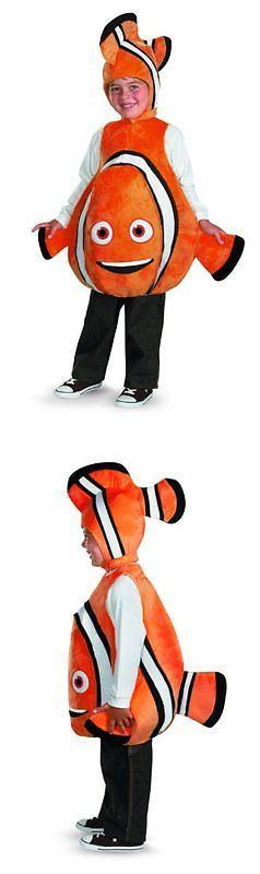Halloween Costumes Kids: Disney Finding Nemo Nemo Deluxe Costume -> BUY IT NOW ONLY: $35.64 on eBay!