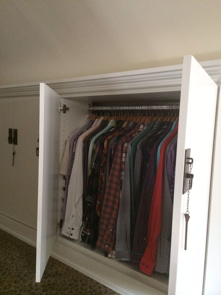 closet ideas for attic bedrooms - 17 best ideas about Attic Bedrooms on Pinterest