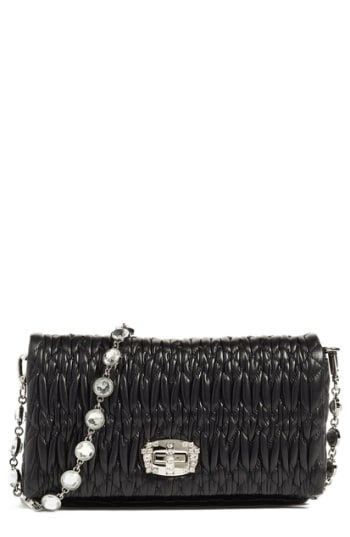 Great for Miu Miu Small Crystal Embellished Leather Shoulder Bag Women s  Fashion Handbags.   1660  yourfavoriteclothing from top store 4731bdeecf60f