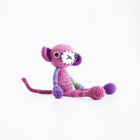 Crochet Monkey Free Pattern, 4/15