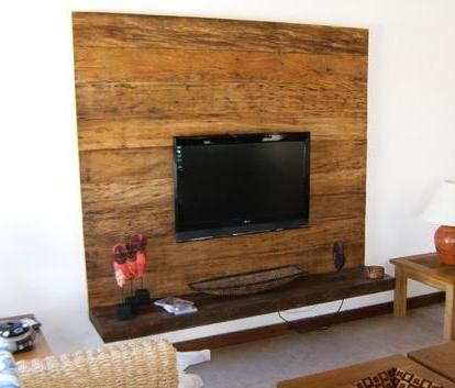 25 best ideas about raque para sala no pinterest raque - Television pequena plana ...