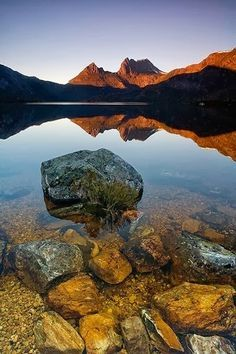 Cradle Mountain, Tasmania Where Harry and I met we took a weekend vacation here with friends.
