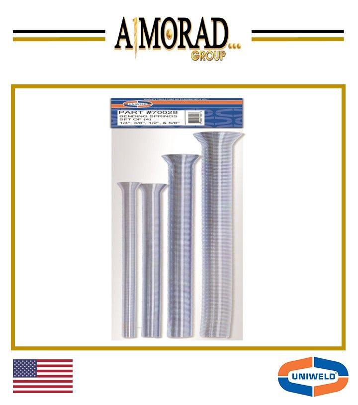 Uniweld S Spring Tube Benders Allow Free Form Bending Of Soft Copper And Aluminum Tubing Spring Slips Over Tube Brazing Bar Chart
