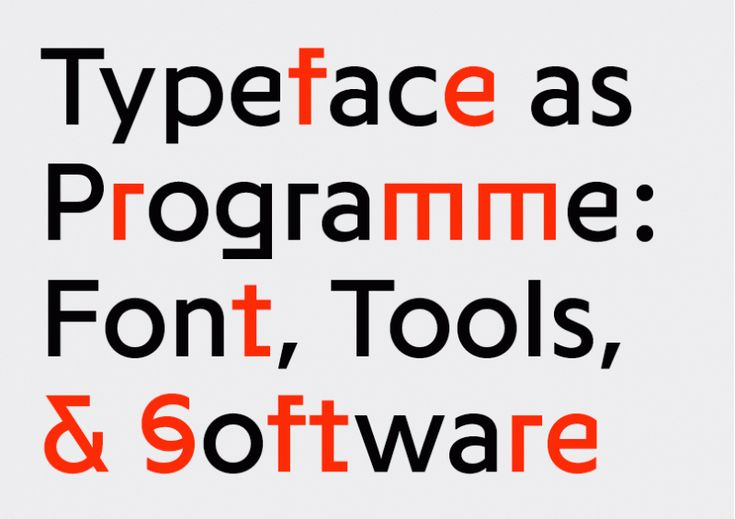 Programme | Slanted - Typo Weblog und Magazin