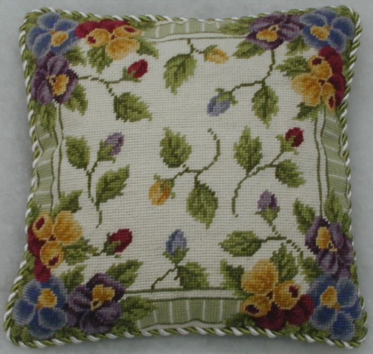 1000 Images About Needlepoint Pillows On Pinterest