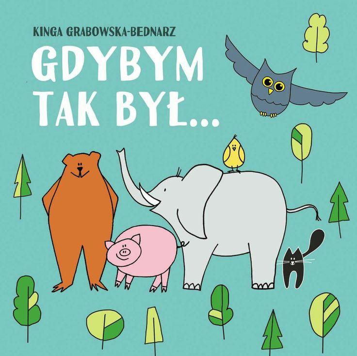 Zwierzęta Animals kids illustration