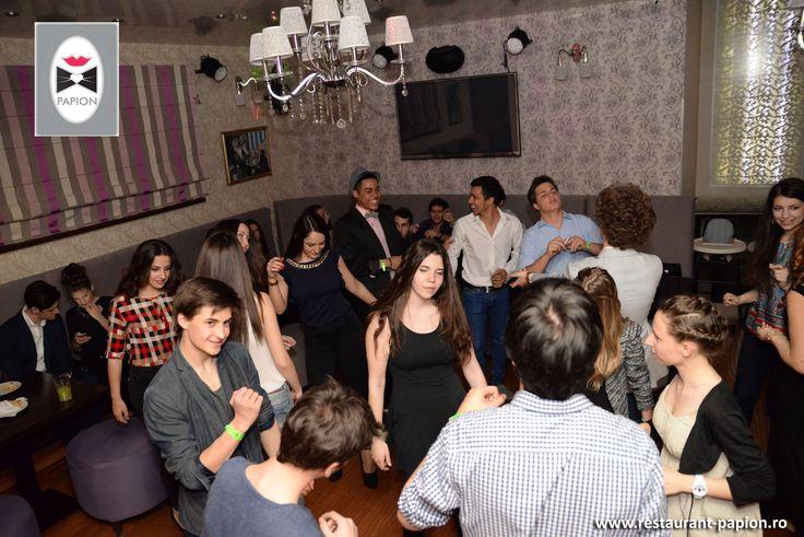 Poze, imagini si fotografii cu Salonul Lasser al Restaurantului Papion din Bucuresti