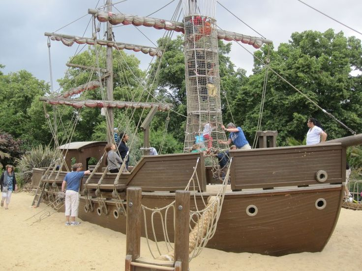The 12 best places for kids in london from toddlers to - Pirate ship wooden playground ...