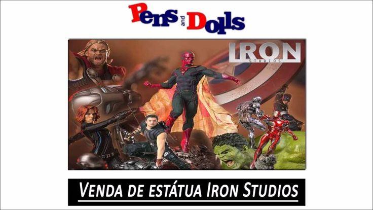 Venda de estátua Iron Studios - Pens and Dolls