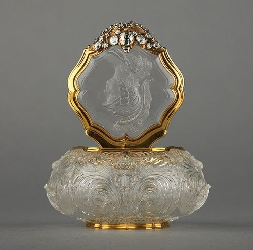 Antique Glass Perfume - Germany - 1745