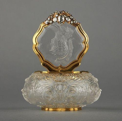 Antique Glass Perfume - Germany - 1745